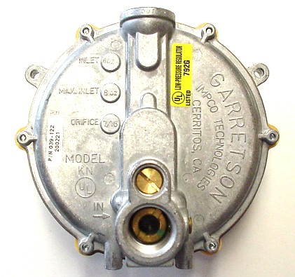 how to change gas regulator