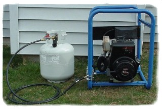 Change Over Any Honda EB5000 Generator To Run On Propane Or Natural Gas.