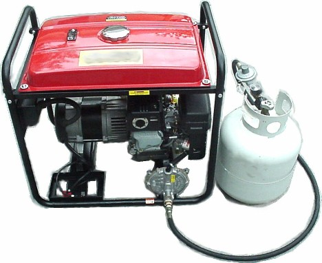 Generator Conversion Kits to Propane and Natural Gas.